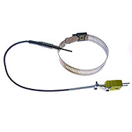 """EGT/TIT Type K Thermocouple, Clamp 3-1/4"""" Max, Ungrounded 86343"""