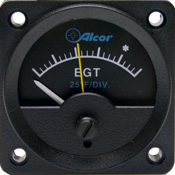"EGT Type K Meter w/ Light, 2-1/4"" 46149"