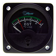 "EGT Type K Meter w/ Green Arc, 2-1/4"" 46162"