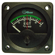 "EGT Type K Meter w/ Green Arc, 2-1/4"" 46244"